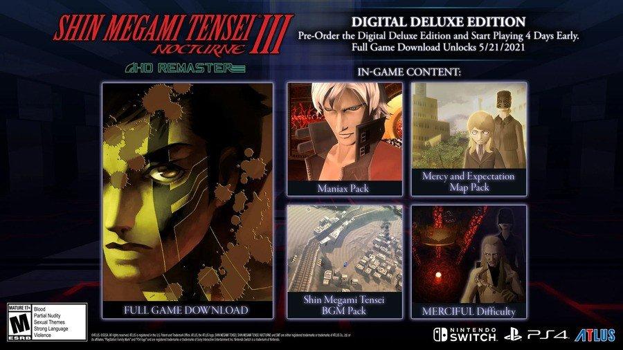 Shin Megami Tensi 3 Digital Deluxe Edition