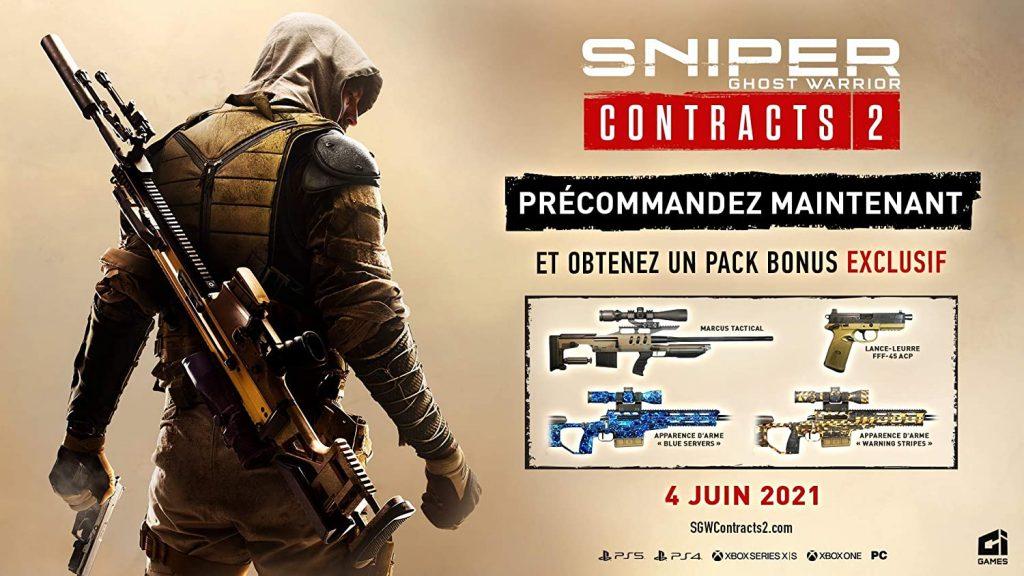 Sniper Ghost Warrior Contracts 2 Bonus
