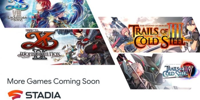 Stadia Ys Trails Cold Steel