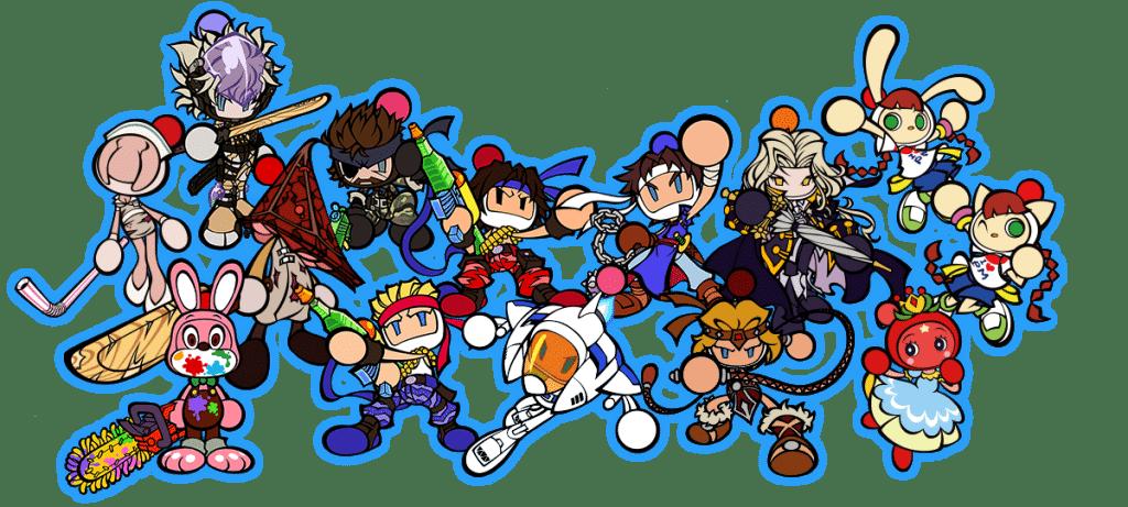 Super Bomberman R Online Personnages
