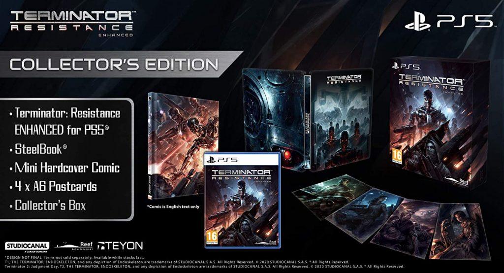Terminator Resistance Enhanced Edition Collector PS5