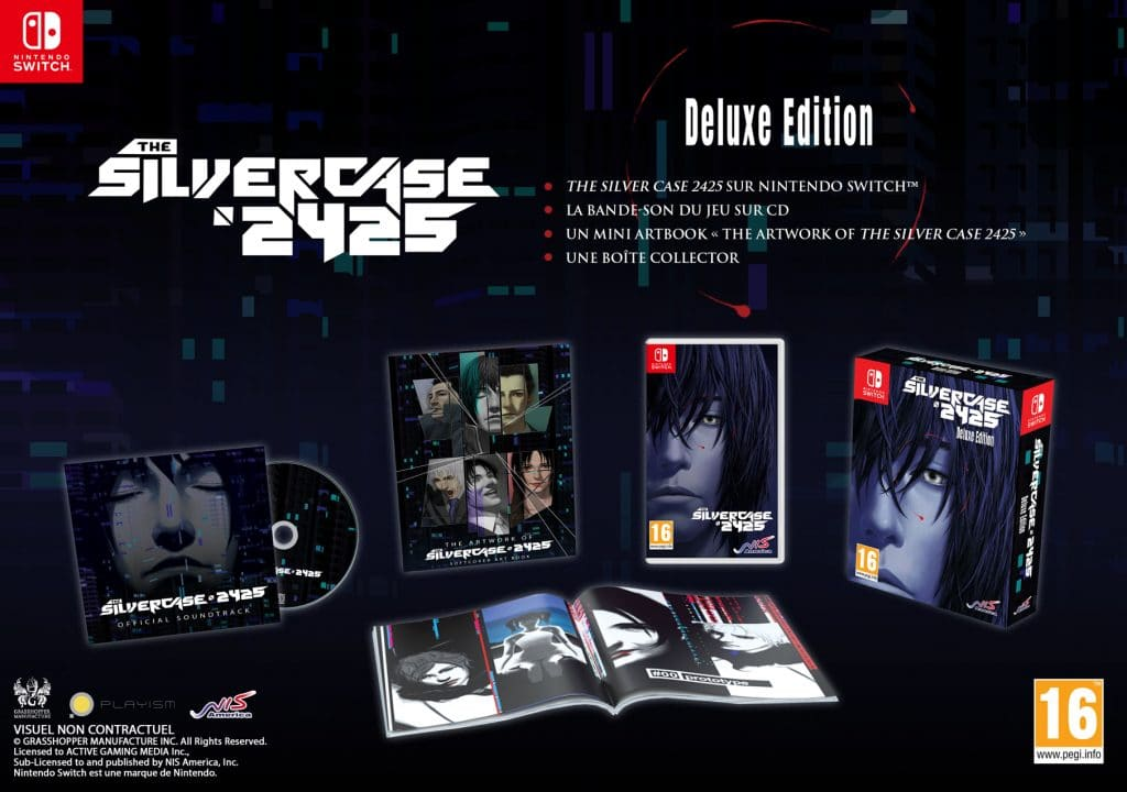 The Silver Case 2425 Deluxe Edition Switch