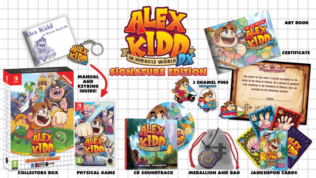 Alex Kidd Miracle World Dx Edition Signature