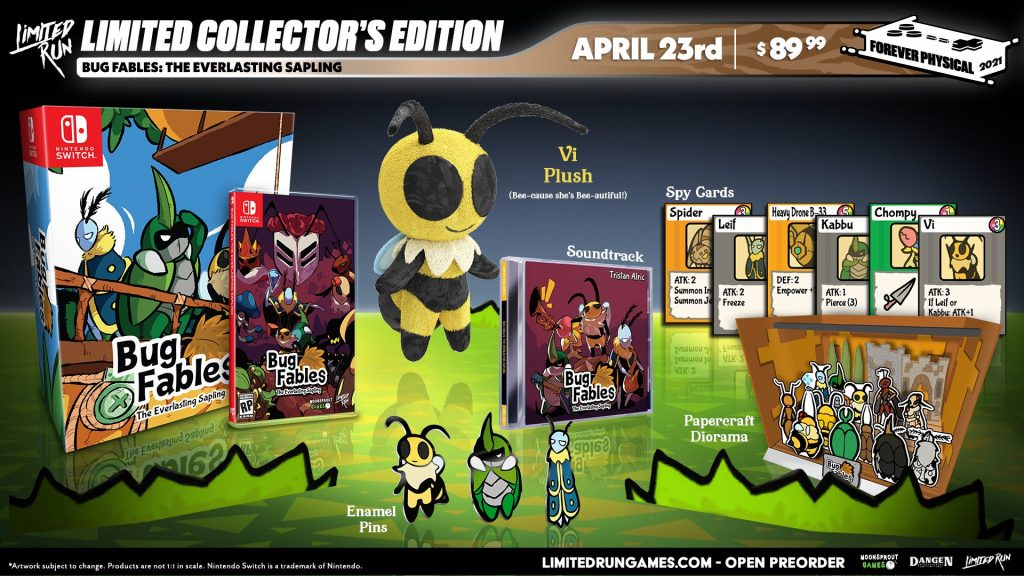 Bug Fables Switch Lrg Collector
