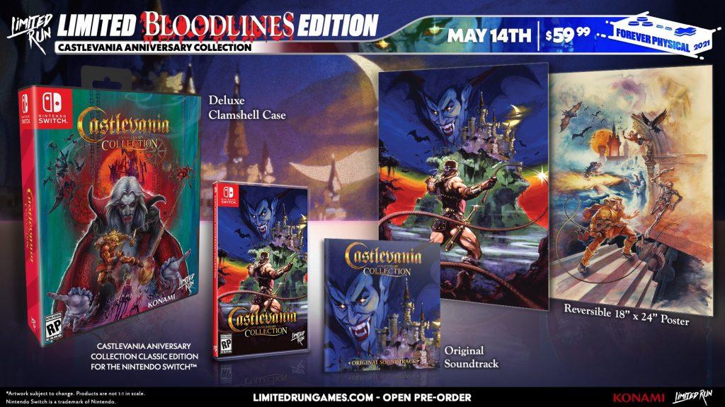 Castlevania Anniversary Edition Lrg Bloodlines