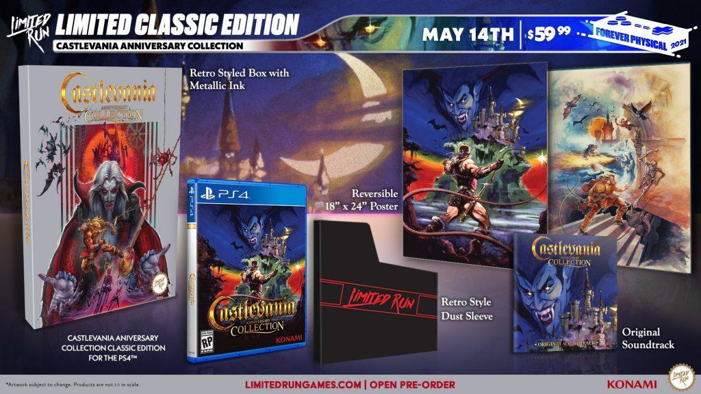 Castlevania Anniversary Edition Lrg Classic
