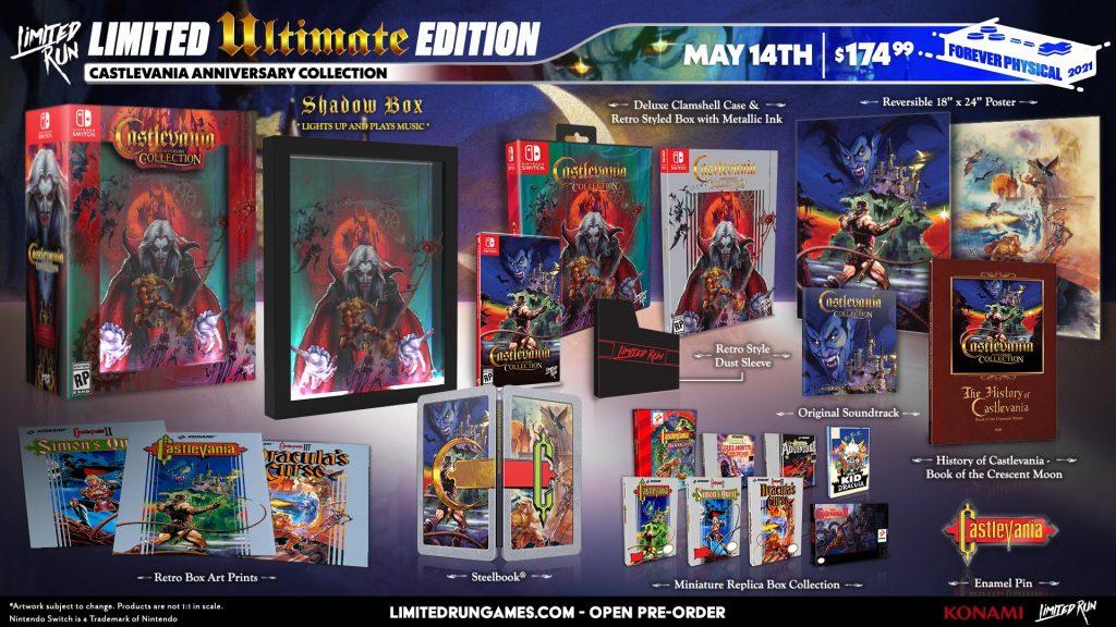 Castlevania Anniversary Edition Lrg Ultimate