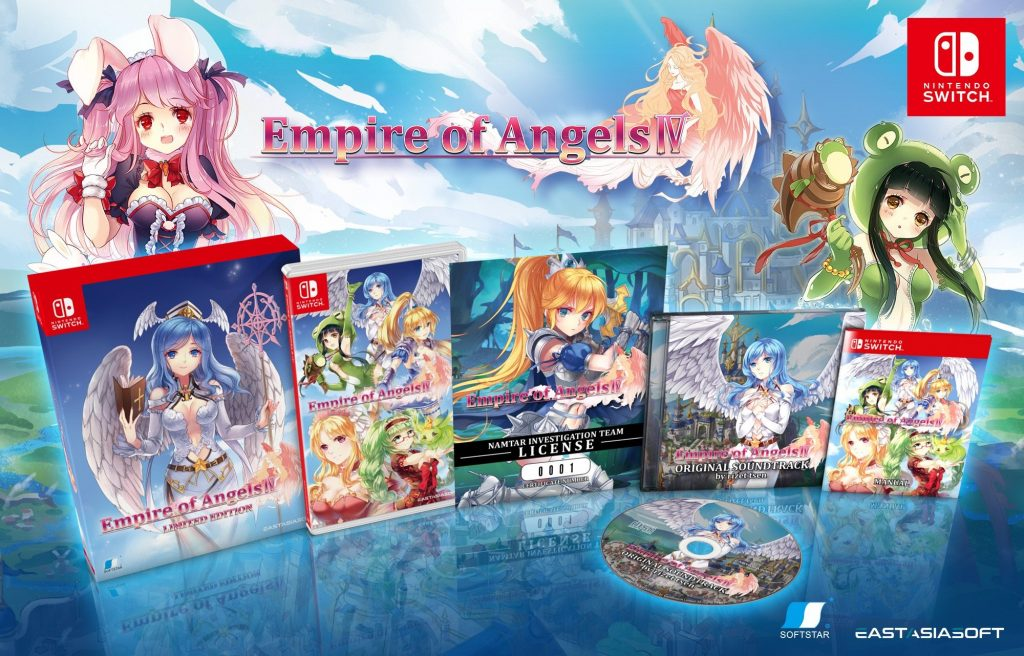 Empire Of Angels 4 Switch Limited