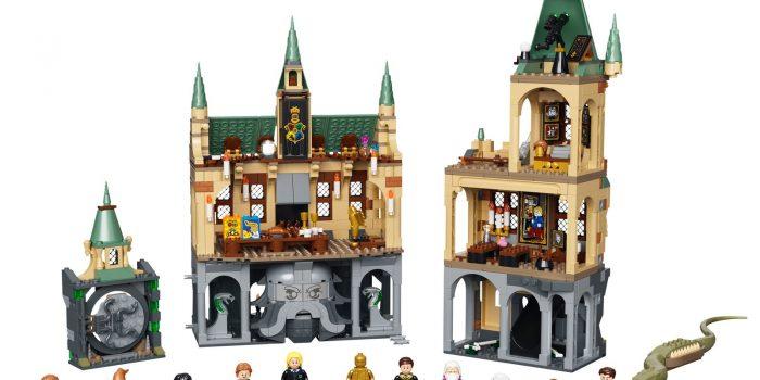 Lego Harry Potter Chambre Secrets Poudlard
