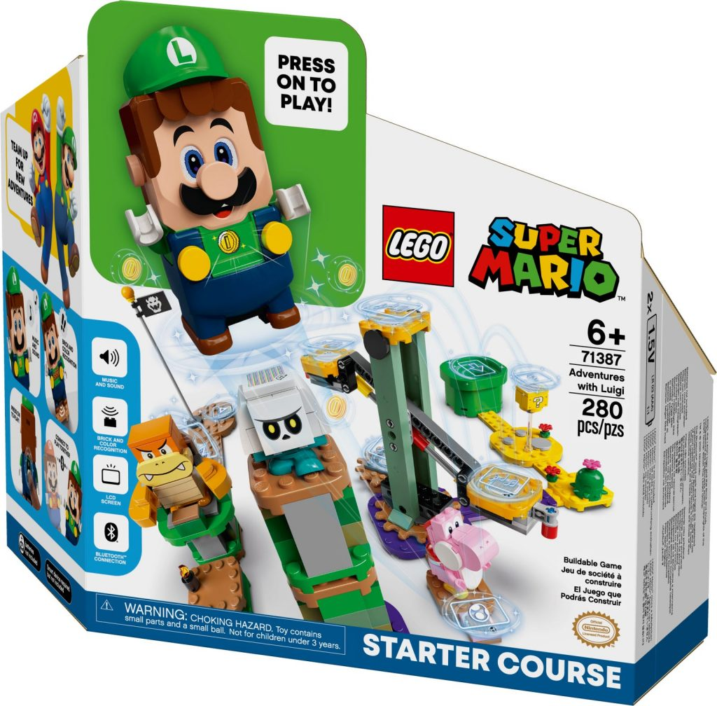 Lego Super Mario Pack Luigi Pack