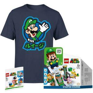 Lego Super Mario Pack Luigi Zavvi