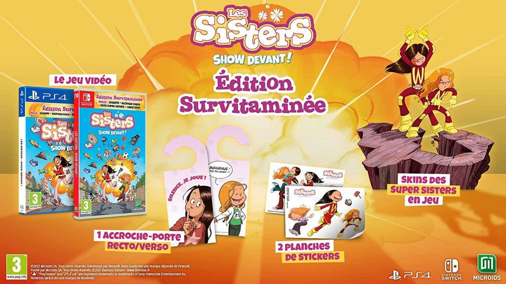 Les Sisters Show Devant Edition Survitaminee