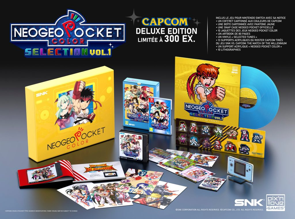 Neogeo Pocket Color Selection 1 Pixnlove Deluxe Capcom