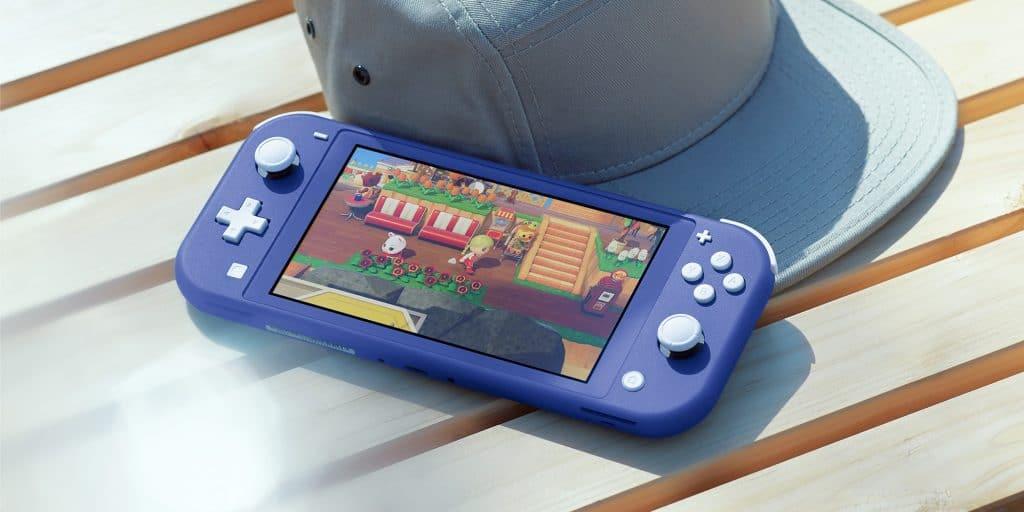 Nintendo Switch Lite Bleue Ac
