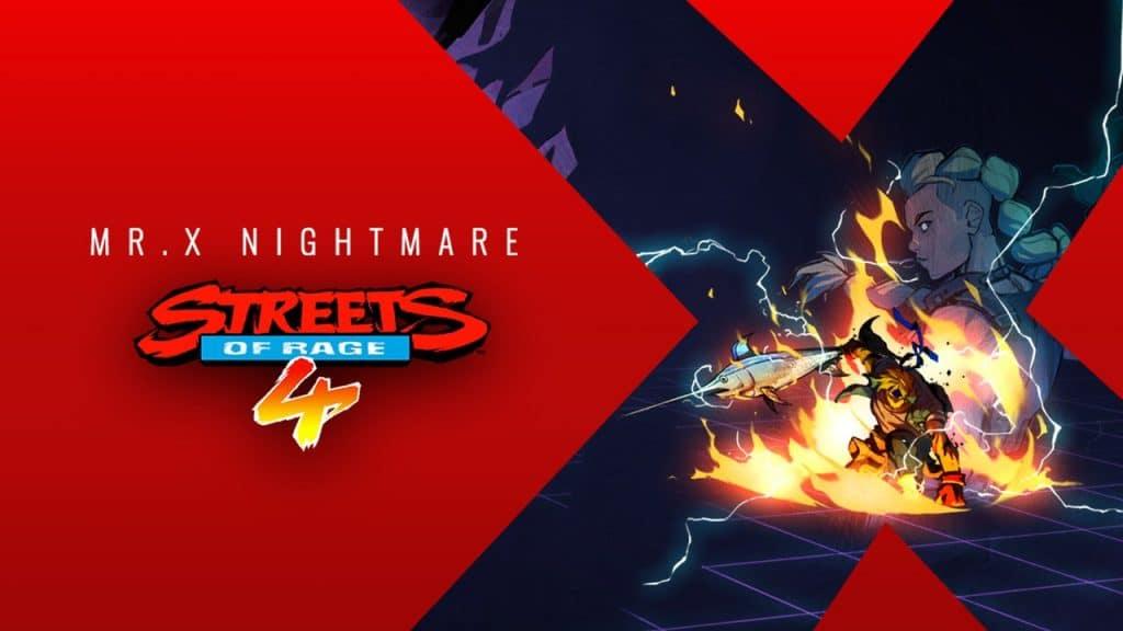 Streets Of Rage 4 Dlc Mr X