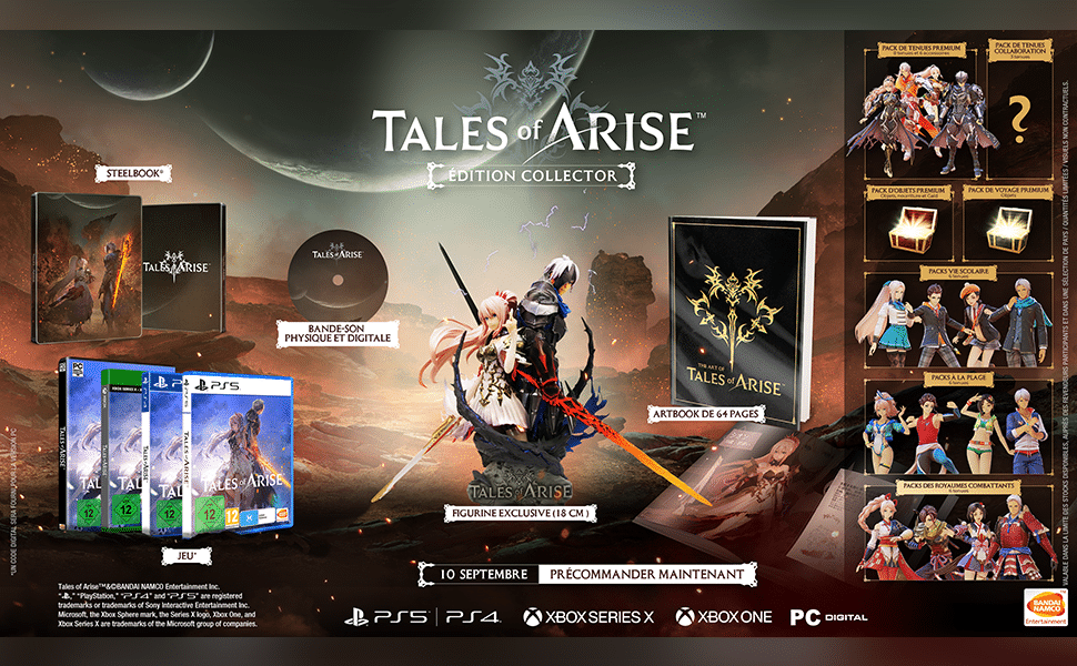 Tales Of Arise Edition Collector Fr