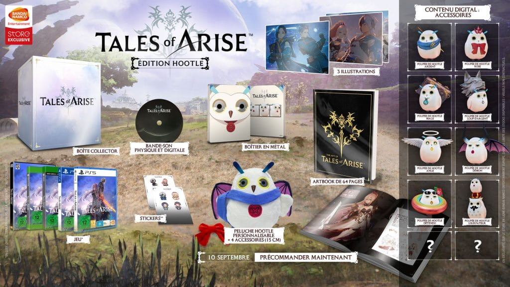 Tales Of Arise Hootle Edition Fr