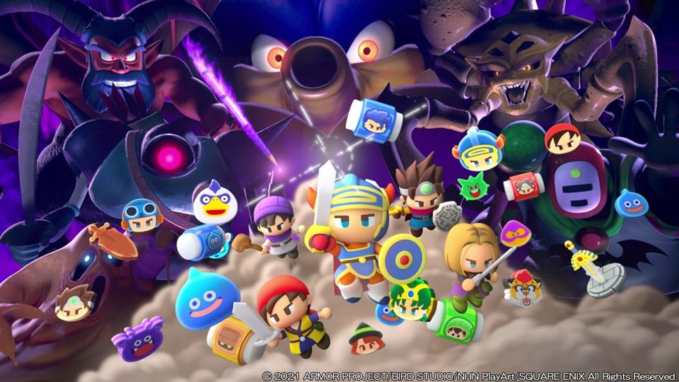 Dragon Quest Keshi Keshi Screenshot