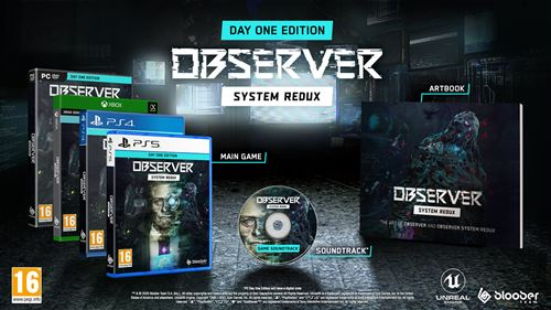 Observer System Redux Day One Edition PS5