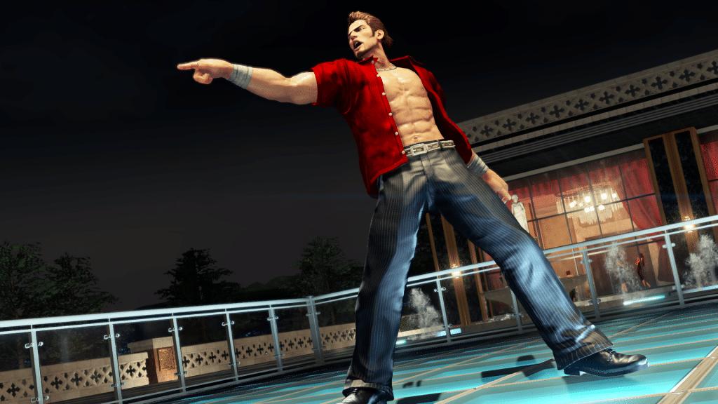 Virtua Fighter 5 Ultimate Showdown Character Screenshot Brad