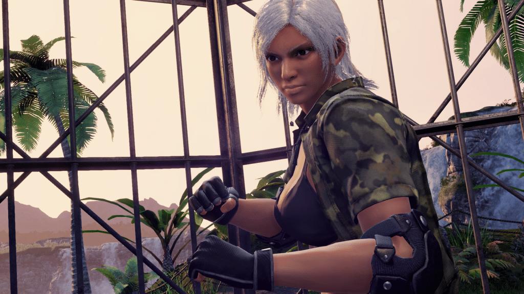 Virtua Fighter 5 Ultimate Showdown Character Screenshot Vanessa
