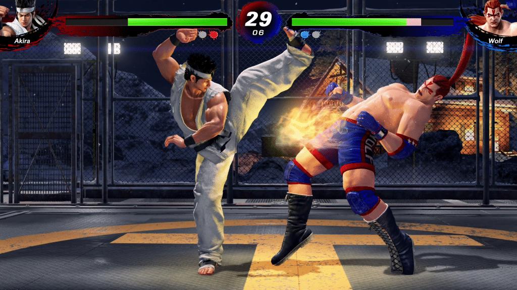 Virtua Fighter 5 Ultimate Showdown Gameplay Screenshot 1