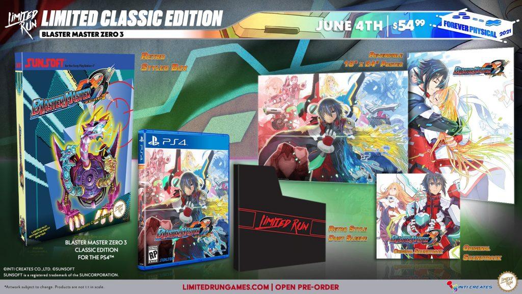 Blaster Master Zero 3 Lrg Classic