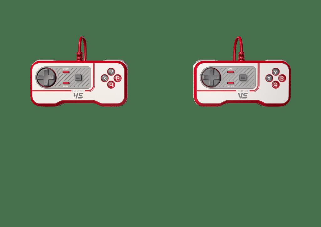 Evercade Vs 1 003c F2 Controllers