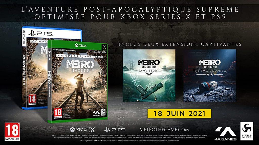 Metro Exodus Complete Edition Contenus