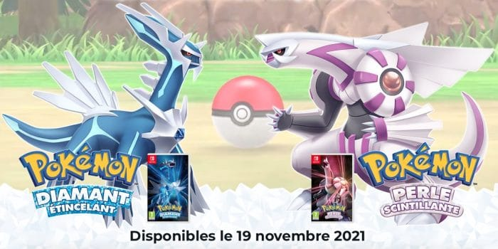 Pokemon Diamant Perle 2021