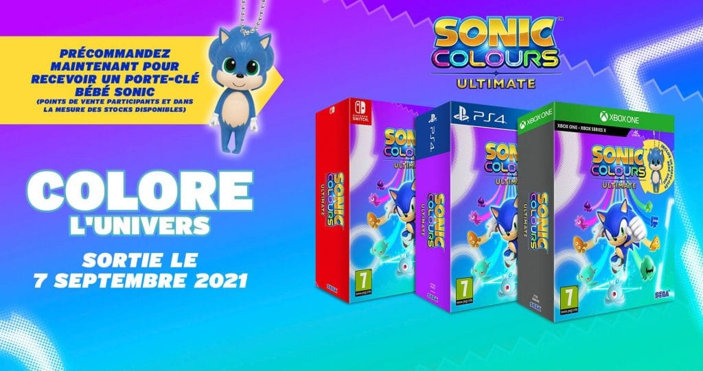 Sonic Colours Ultimate Edition Day One