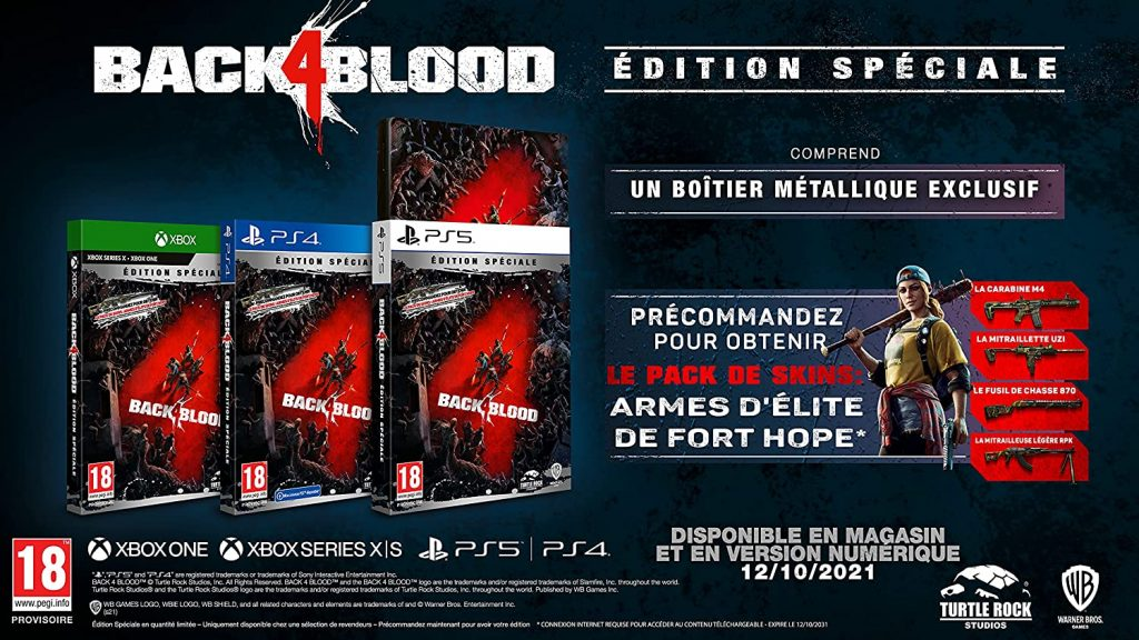 Back 4 Blood Edition Speciale