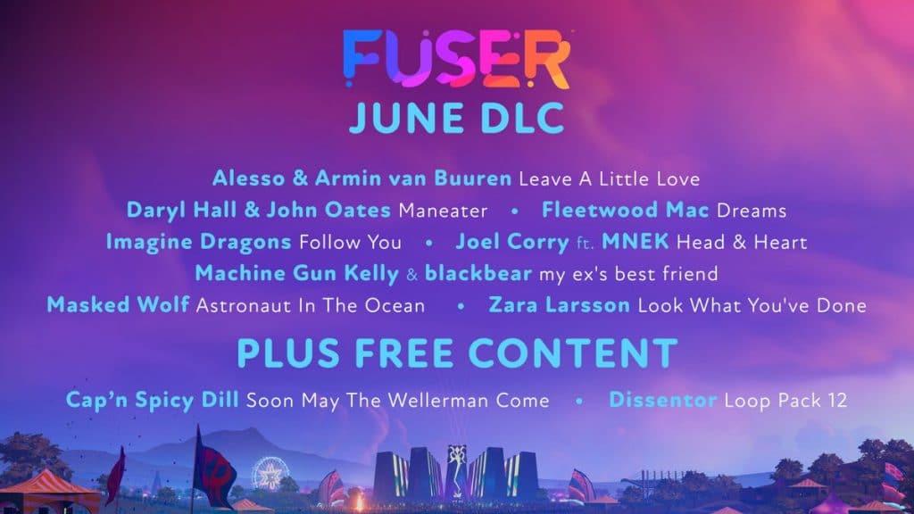 Fuser Dlc Juin 2021