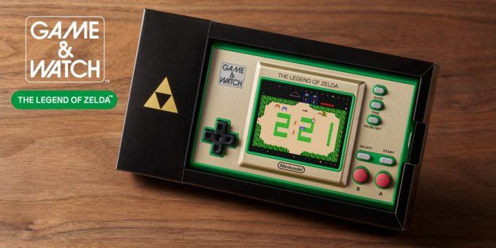 Game Watch Legend Of Zelda