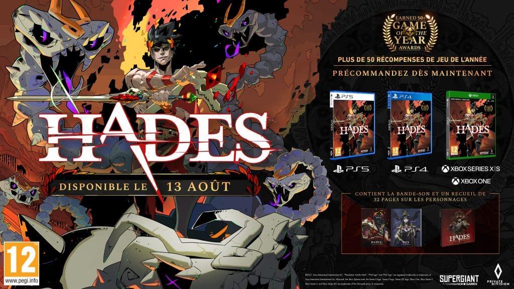 Hades Xbox PS4 PS5