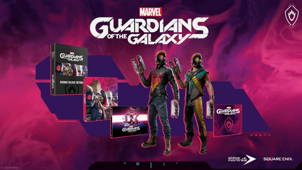 Marvels Guardians Of The Galaxy Edition Deluxe