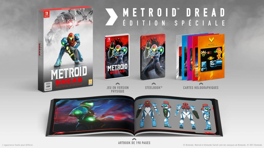 Metroid Dread Edition Speciale