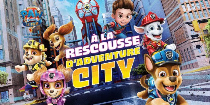 Paw Patrol Le Film A La Rescousse Adventure City
