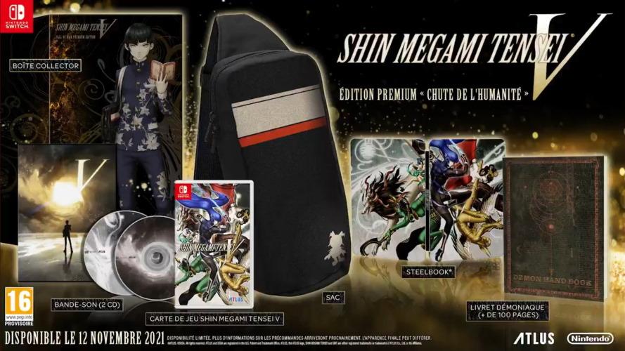 Shin Megami Tensei V Edition Collector