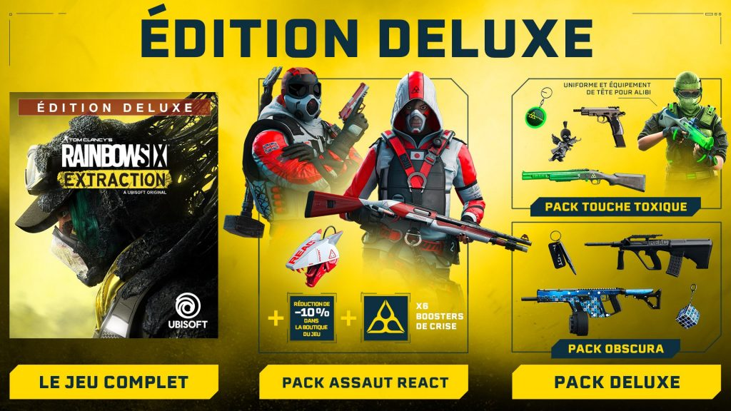 Tom Clancys Rainbow Six Extraction Edition Deluxe