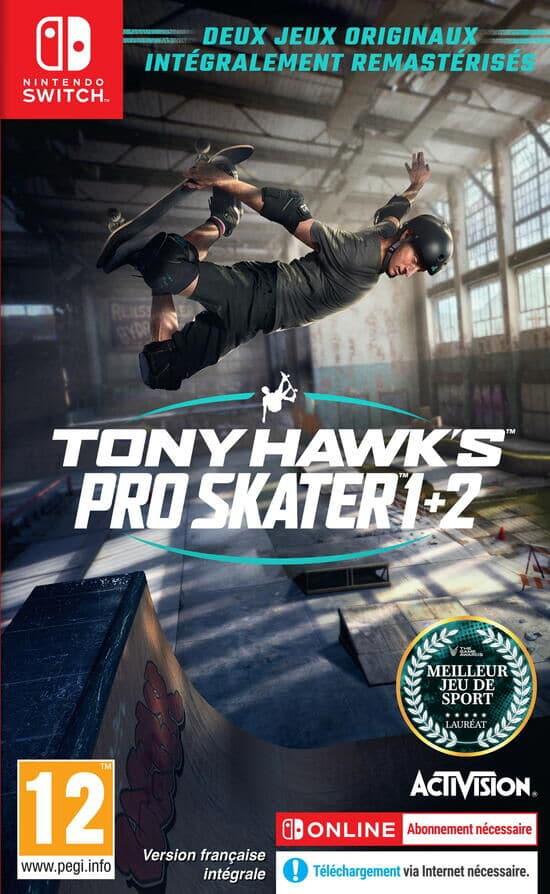 Tony Hawk Pro Skater 1 2 Switch