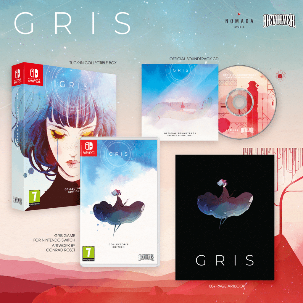 Gris Edition Collector