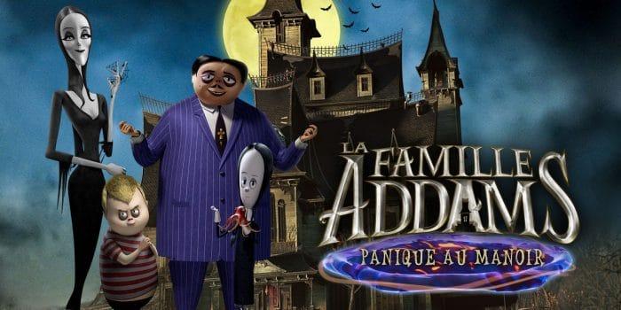 La Famille Addams Panique Au Manoir
