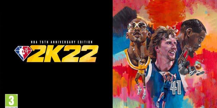 NBA 2k22 Logo Anniversary Edition