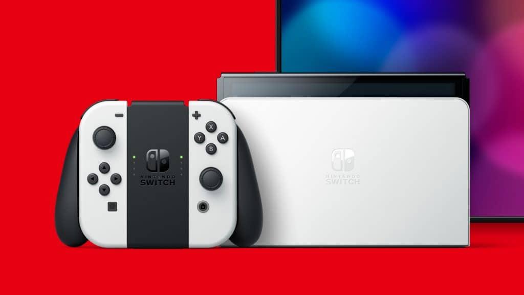Nintendo Switch Modele Oled 01