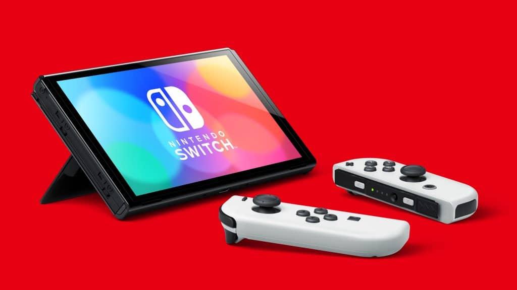 Nintendo Switch Modele Oled 03