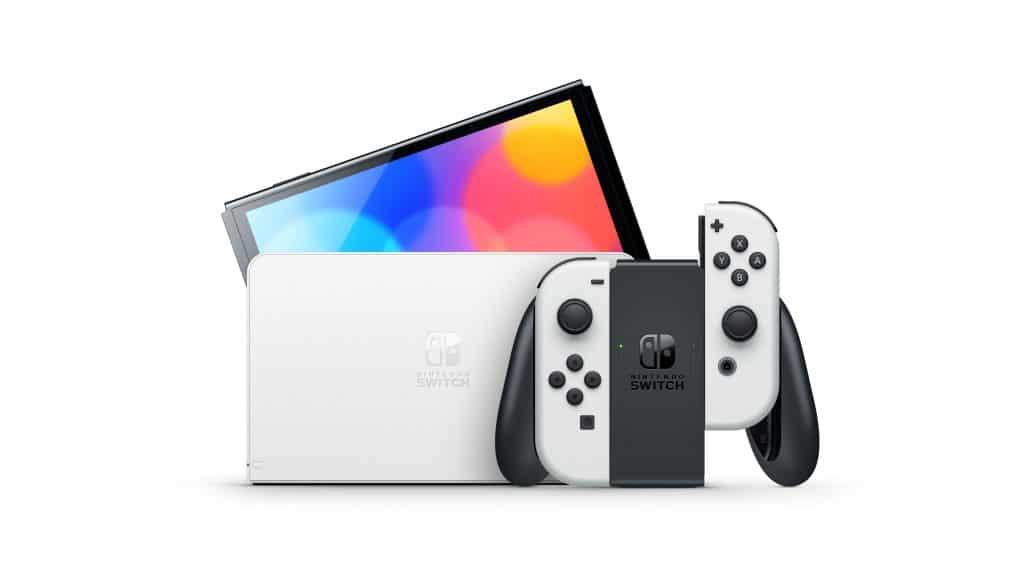 Nintendo Switch Modele Oled 04