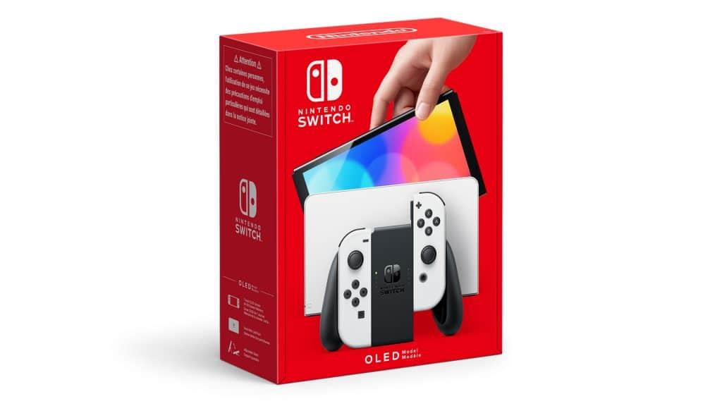 Nintendo Switch Oled Blanc