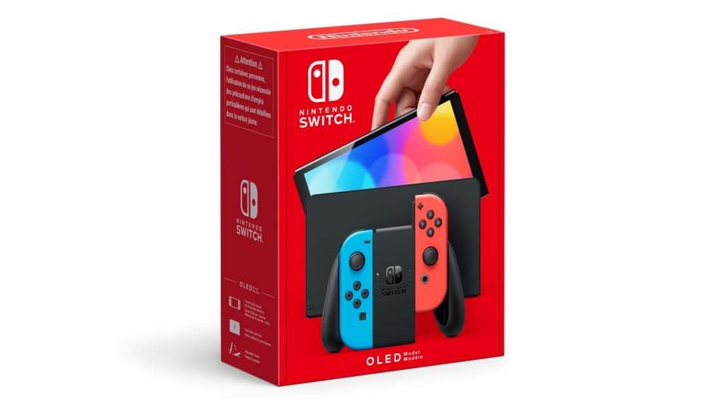 Nintendo Switch Oled Neon