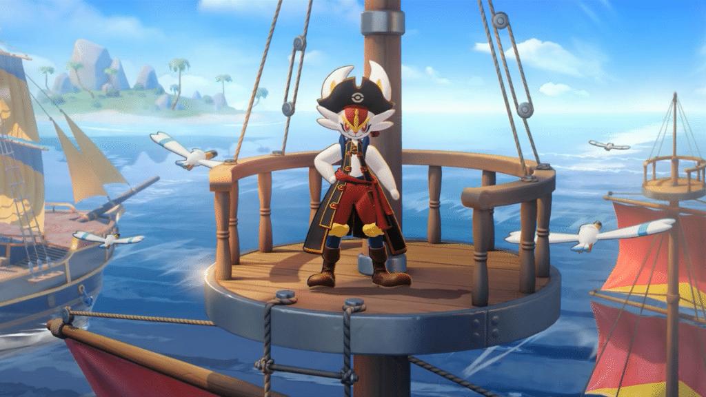 Pokemon Unite Cinderace Captain Style